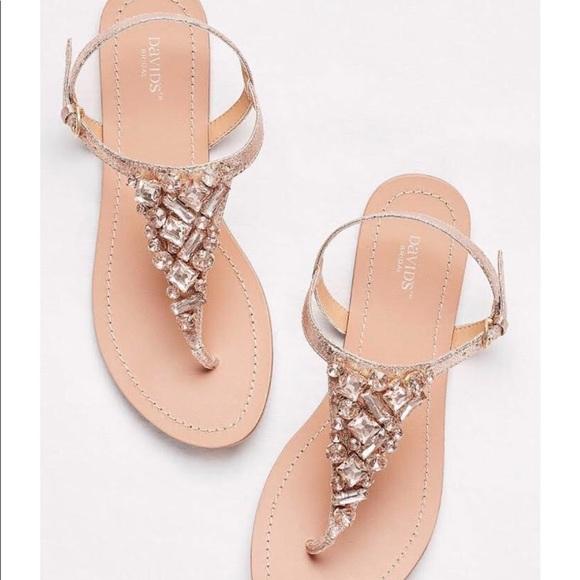 0e87a31ecc864 David s Bridal Shoes - Wedding Sandals